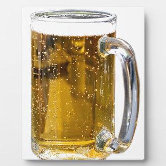 Beer Glass Photo Plaque