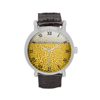 Beer Glass Wristwatches