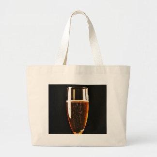 Beer Glasses Bubbles Canvas Bag