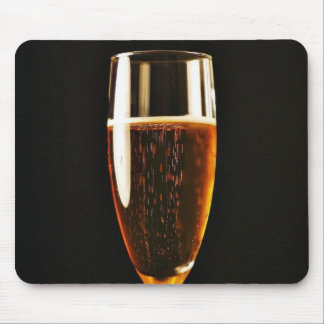 Beer Glasses Bubbles Mouse Pads