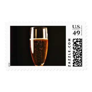 Beer Glasses Bubbles Postage Stamps