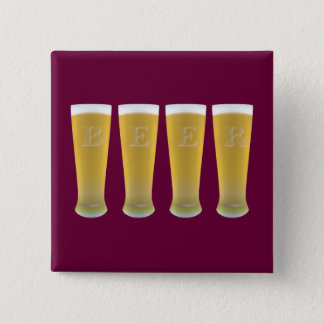 Beer Glasses Button