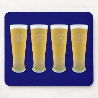 Beer Glasses Mousepad