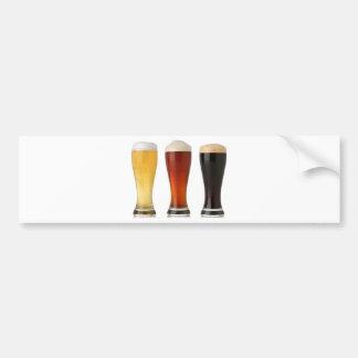 beer glasses.png bumper sticker