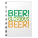 Beer! Glorious Beer! Notebooks