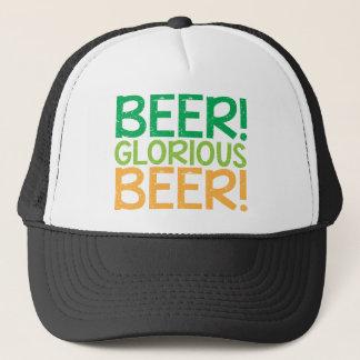 Beer! Glorious Beer! Trucker Hat