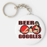 BEER GOGGLES KEYCHAINS