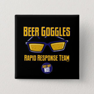 Beer Goggles Rapid Response Team Button