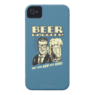 Beer Goggles: Turn Bow Into Wow iPhone 4 Cover