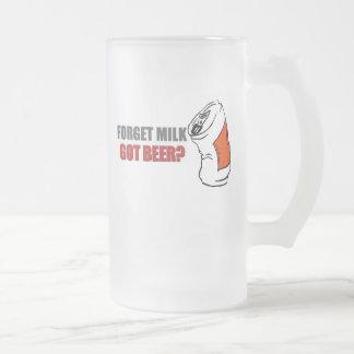 Beer..., GOT BEER 16 Oz Frosted Glass Beer Mug