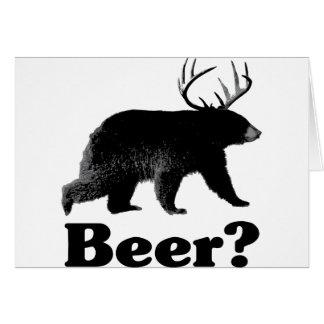 Beer? Greeting Card