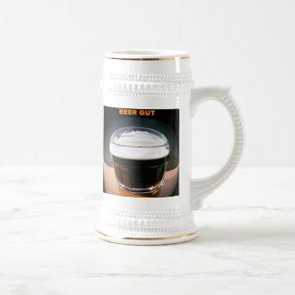 """""""Beer Gut"""" beer stein by Zoltan Buday Coffee Mugs"""