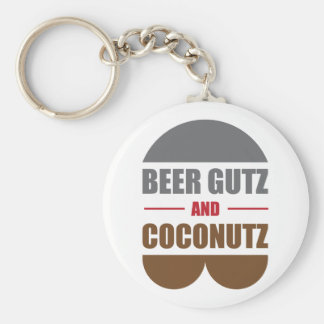 Beer Gutz And Coconutz Keychain