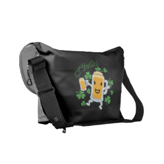 Beer Guy With Beer Courier Bags
