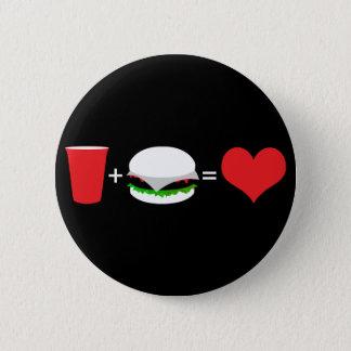 beer + hamburger = love button