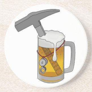 Beer Hammer Beverage Coaster