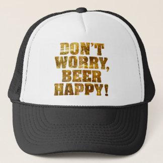Beer Happy Trucker Hat