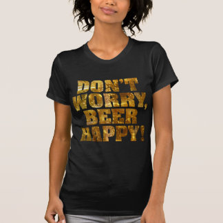 Beer Happy Women's Dark T-shirt
