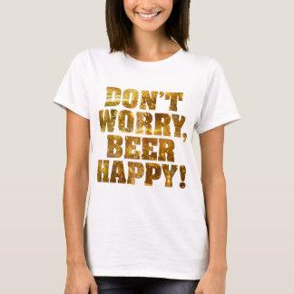 Beer Happy Women's T-shirt
