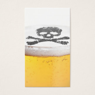 Beer Head Bubbles Business Card