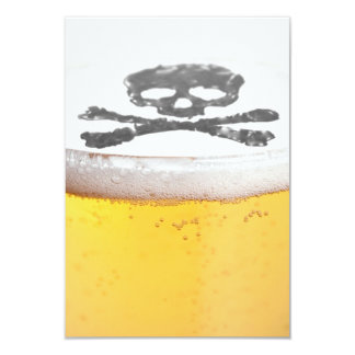Beer Head Bubbles Card