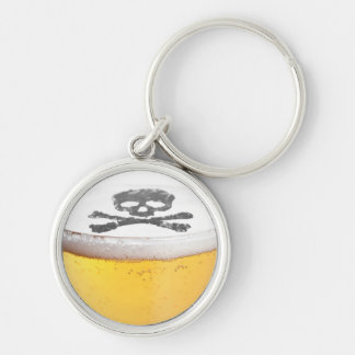 Beer Head Bubbles Keychains