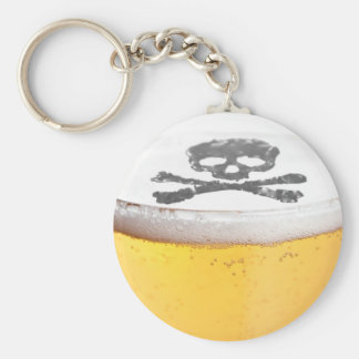 Beer Head Bubbles Key Chains
