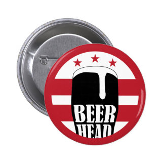Beer Head Button