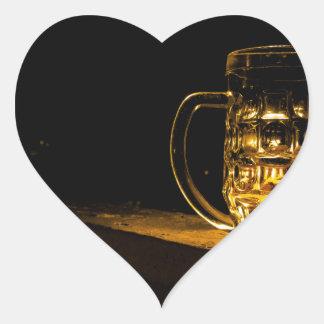 Beer... Heart Sticker