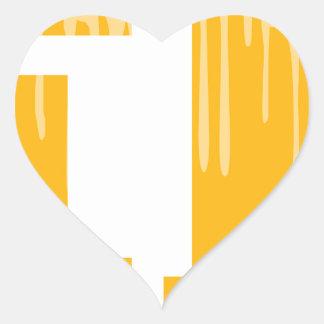 BEER HEART STICKER