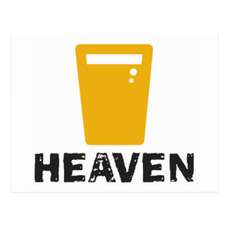 Beer Heaven Postcard