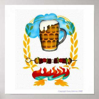 Beer Heaven! Print