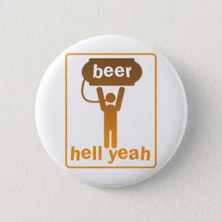 beer hell yeah! button