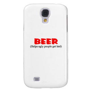 beer helps ugly people galaxy s4 cover