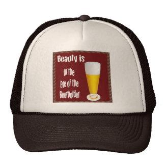 Beer Holder Cap Trucker Hat