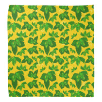 Beer Hops Brewer Pattern Brewery Bandana