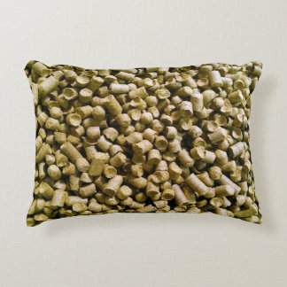Beer Hops Brewery Home Brew Hop Head Accent Pillow