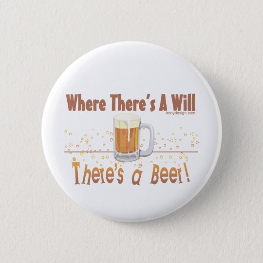 Beer Humor Button