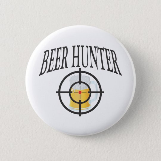 Beer Hunter Button
