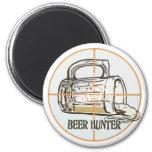 Beer Hunter Drinking Gear Magnets