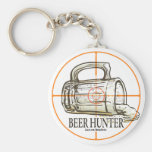 Beer Hunter Key Chains