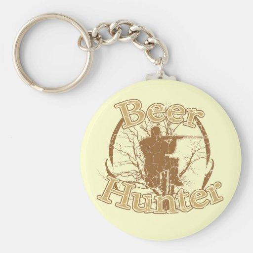 Beer Hunter Keychain