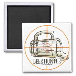 Beer Hunter Fridge Magnet