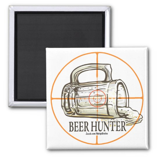Beer Hunter Magnet