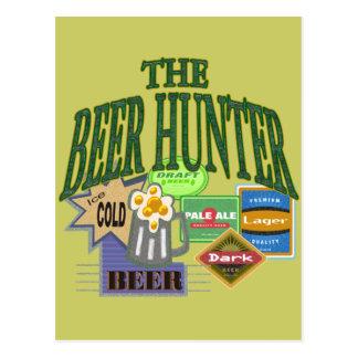 Beer Hunter T-shirts Gifts Postcard
