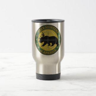 Beer Hunters of America (fun bear w/ antlers logo) Coffee Mug