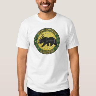 Beer Hunters of America (fun bear w/ antlers logo) Tee Shirt