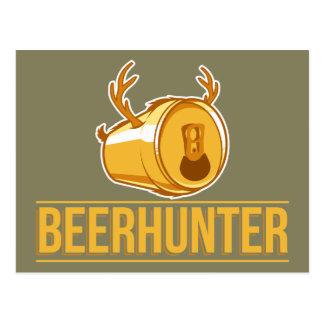 Beer& Hunting, The Beerhunter Postcard