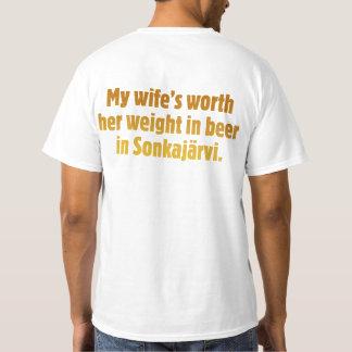 Beer Husband Back Value T-shirt
