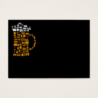 Beer Icons Business Card